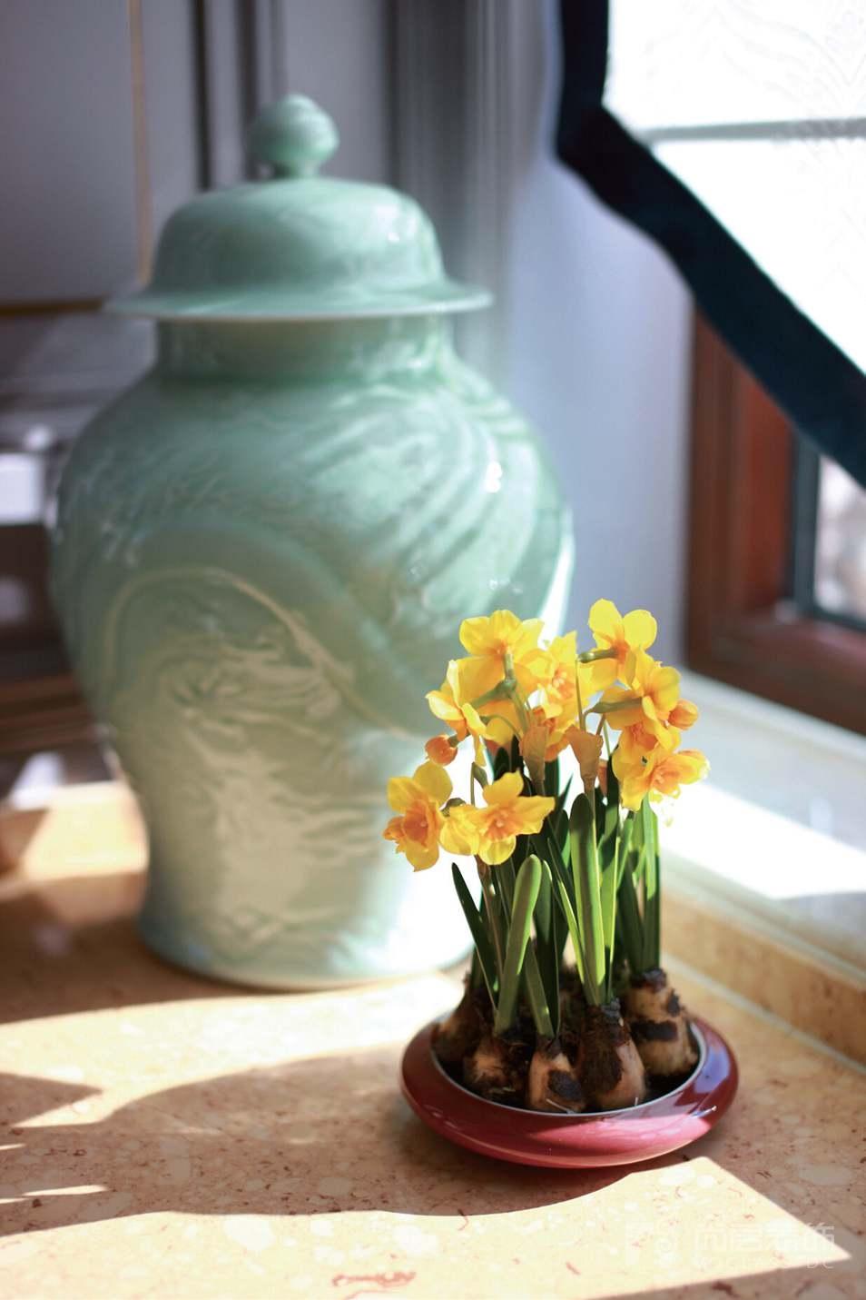 尚层装饰张崇檀女士的家里陈设着众多瓷器