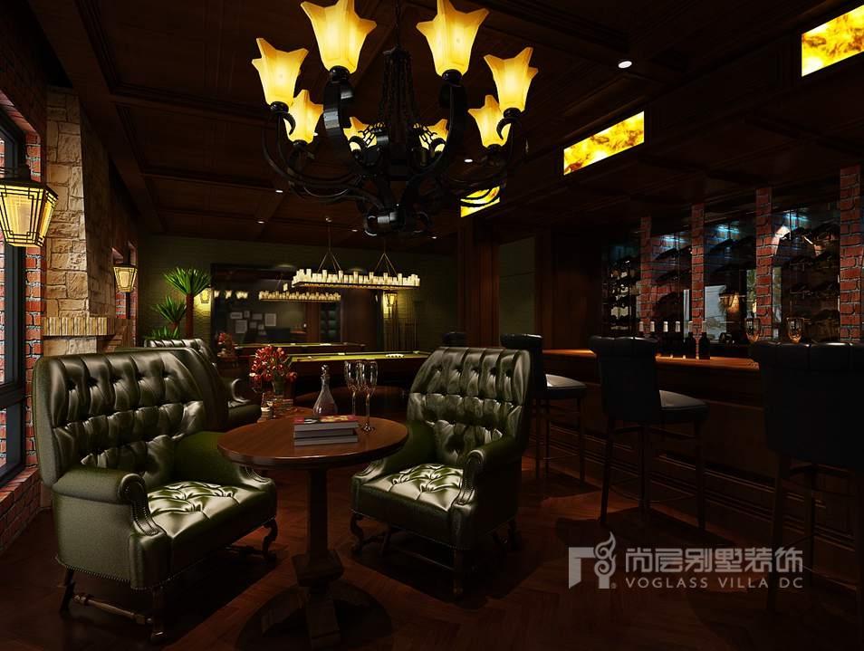 中海尚湖世家现代酒吧区别墅装修效果图