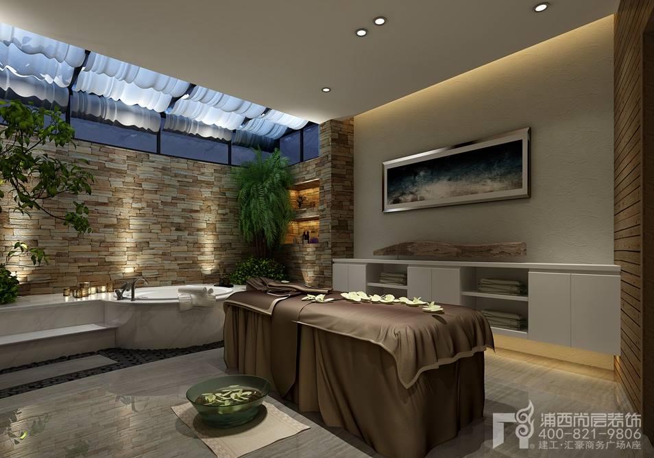 大华西郊独栋别墅装修设计现代中式风格装修案例